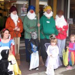 Snow White and the ahem 4 dwarves...