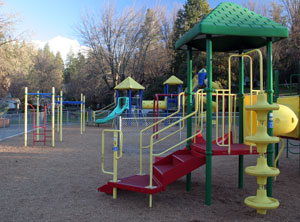 Memorial Park Playground in Grass Valley