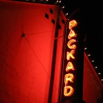 Packard Neon Sign