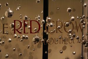 Red Crow Window